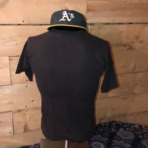 Vintage Shirts - Vintage 1980s Jose Canseco A's T-shirt. Size S